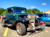 1931 Chevrolet 3 window coupe hot rod