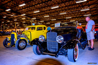 1932 Ford Deuce Roadster & 31 Ford 5 Window Coupe
