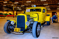 "1931 Ford 5 window coupe ""hot rod"""