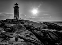 The Iconic Lighthouse at Peggys Cove