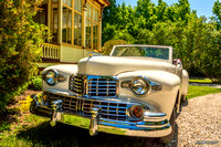 1948 Lincoln convertible at The Clockmakers Inn