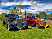 1934 Ford hotrod coupes
