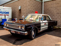 1967 Plymouth Belvedere police car