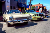 1971 Ford Pinto & 2005 Mustang GT convertible