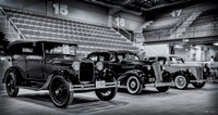 1928 Ford Model A Phaeton, 1937 Chevrolet Master Deluxe & 1948 Ford Prefect