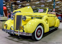 1938 Buick convertible coupe