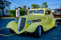 1934 Ford Three Window Coupe