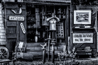 Lean-To Antiques, antique & cafts shop in Kingsburg