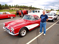 My Vette & me - photo by Roger Waite