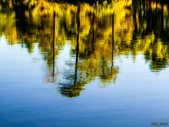 Summer Colors Reflecting on Kearney Lake