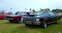 1974 Plymouth Duster & 1968 Dodge Charger