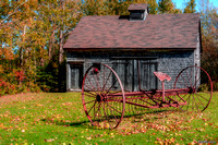 Old Barn & Rusty Farm Implement 02