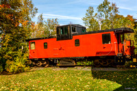 Caboose at Train Station Inn & Railway Dining Car