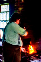 Sherbrooke Village's Blacksmith