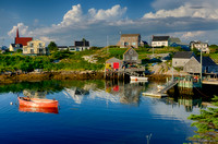 Calm Water at Peggys Cove